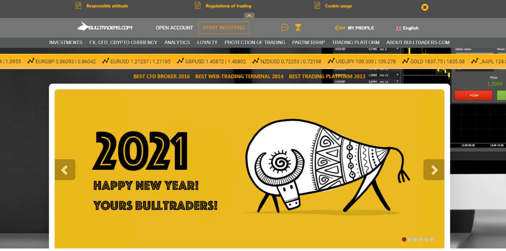анализ сайта bulltraders.com
