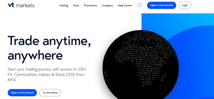сайт компании vt markets