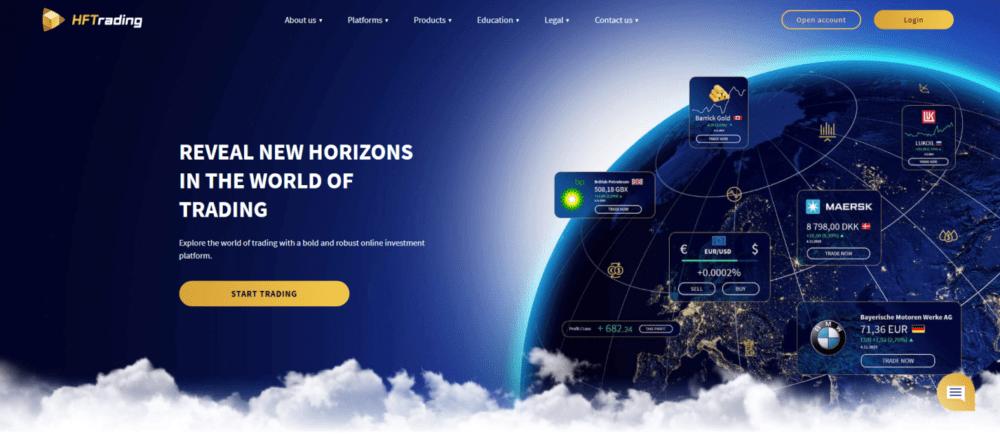 hftrading официальный сайт брокера